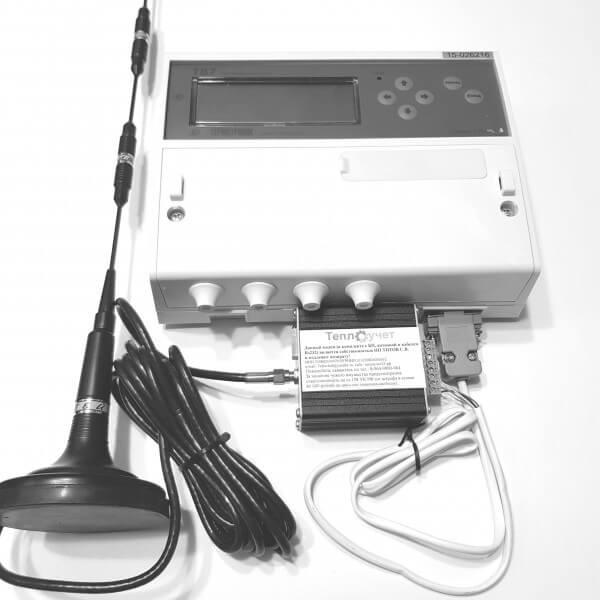 Дистанционное снятие архивных данных с ТВ7 (подключение к системе диспетчеризации)