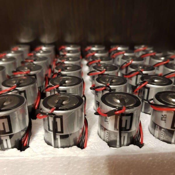 Литиевые батарейки тип C для замены в приборах учета